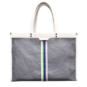Fallon & Royce Bowie East/West Mesh Tote Multi NWT
